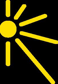 204x296 Half Sun Clipart