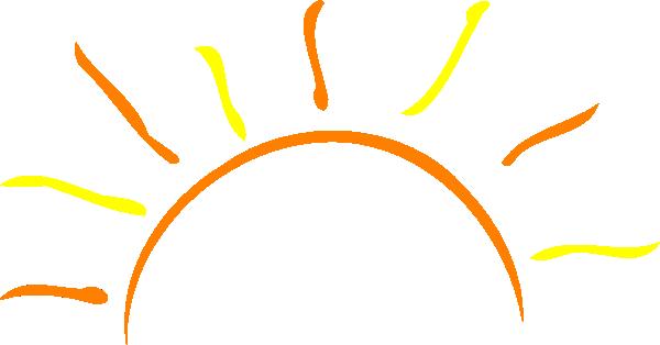 600x314 Sun Clip Art