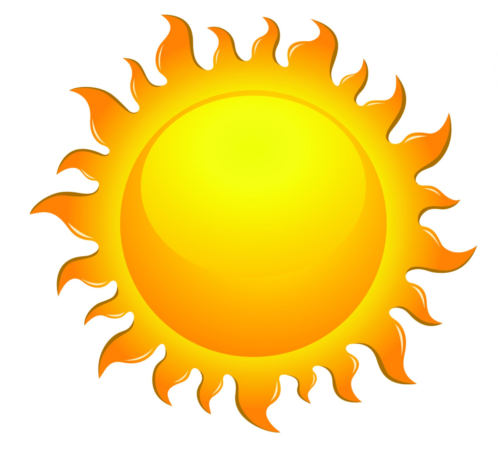 1700x1544 Free Sun Vector Clipart