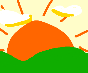 300x250 Sun Rising Over Kills (Drawing By Epicdjembe)