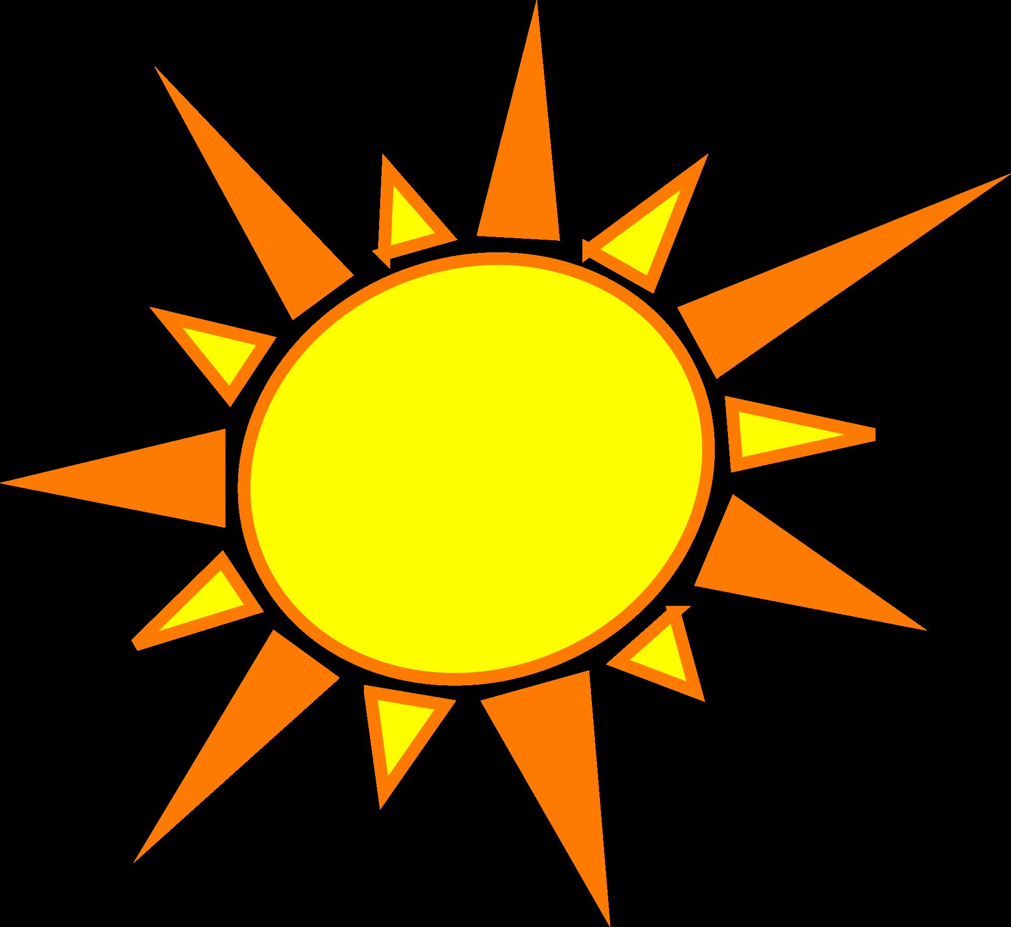 2000x1833 Clip Art Sun Clip Art Images