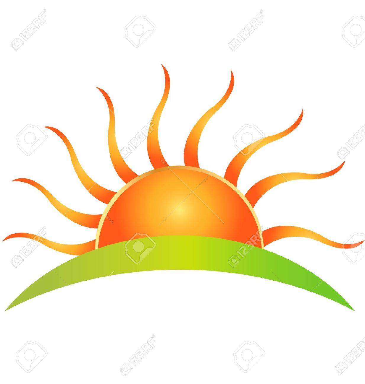1234x1300 Dawn Clipart Rising Sun