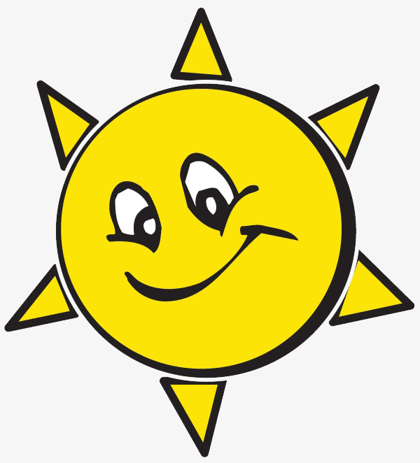 600x662 Sun Cartoon Faces, Cartoon Faces, Yellow, Decorative Elements Png