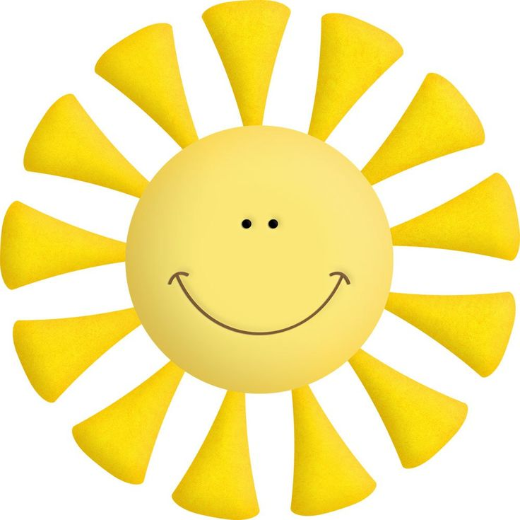 Sun With Clouds Clipart