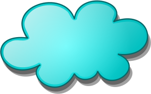 306x190 Sun And Cloud Clipart Image 1