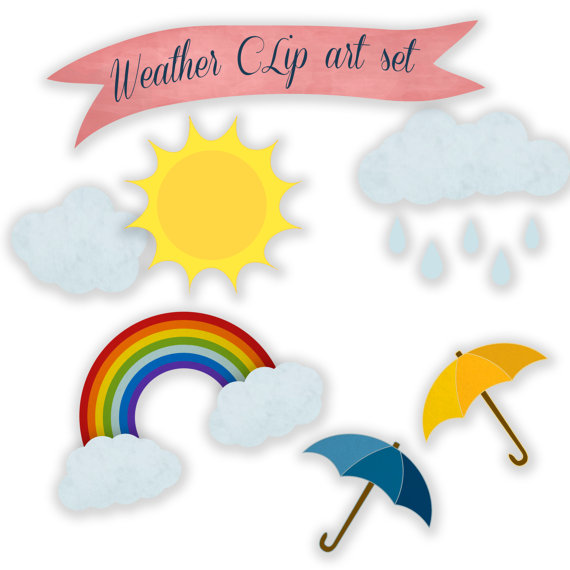 570x570 Weather Clip Art Digital Clipart