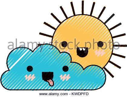 420x320 Kawaii Sun Icon Stock Vector Art Amp Illustration, Vector Image