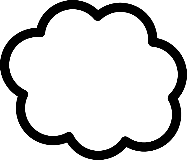 600x514 Cartoon Clouds Cliparts 186901