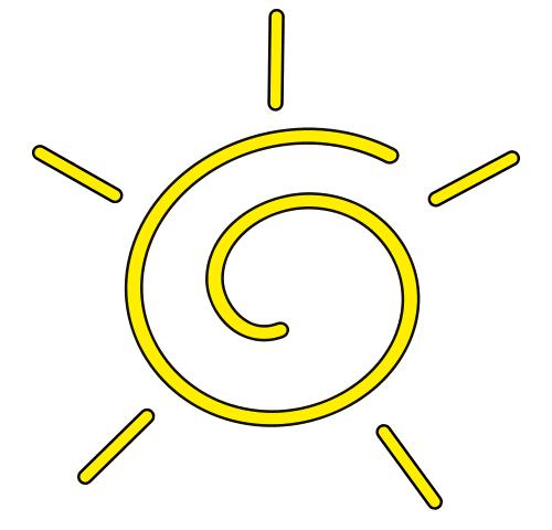 500x480 Free Sun Clipart