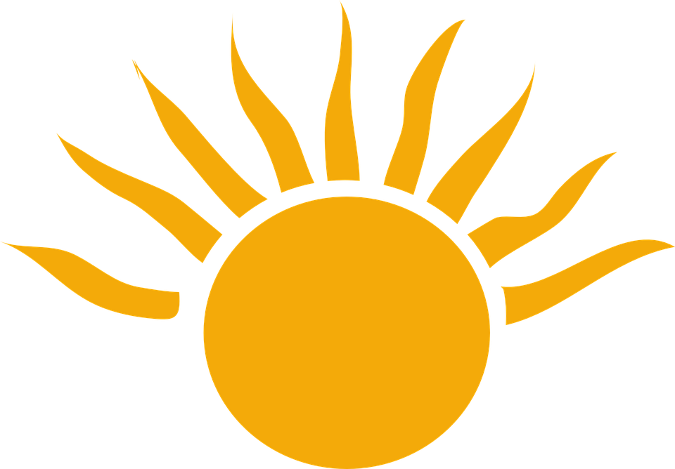 960x668 Half Sun With Rays Png Transparent Half Sun With Rays.png Images