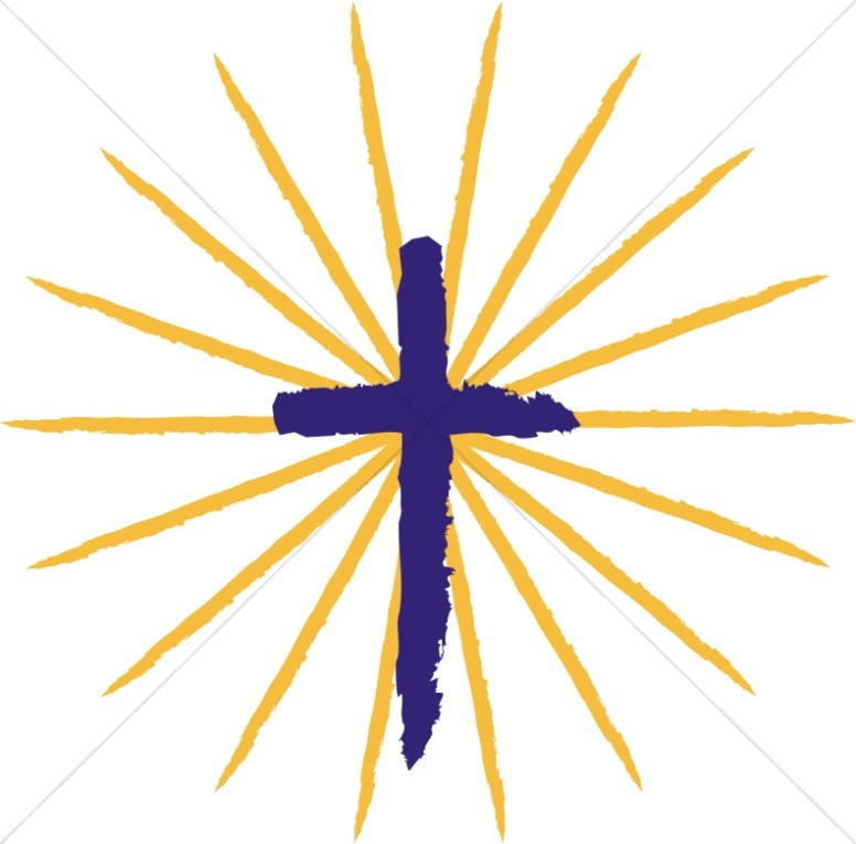 776x765 Pentecost Cross With Rays Cross Clipart