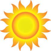 170x170 Sun Rays Clip Art