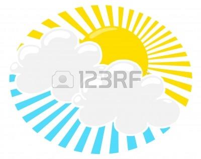 400x318 Sun Rays Through Clouds Clip Art Cliparts