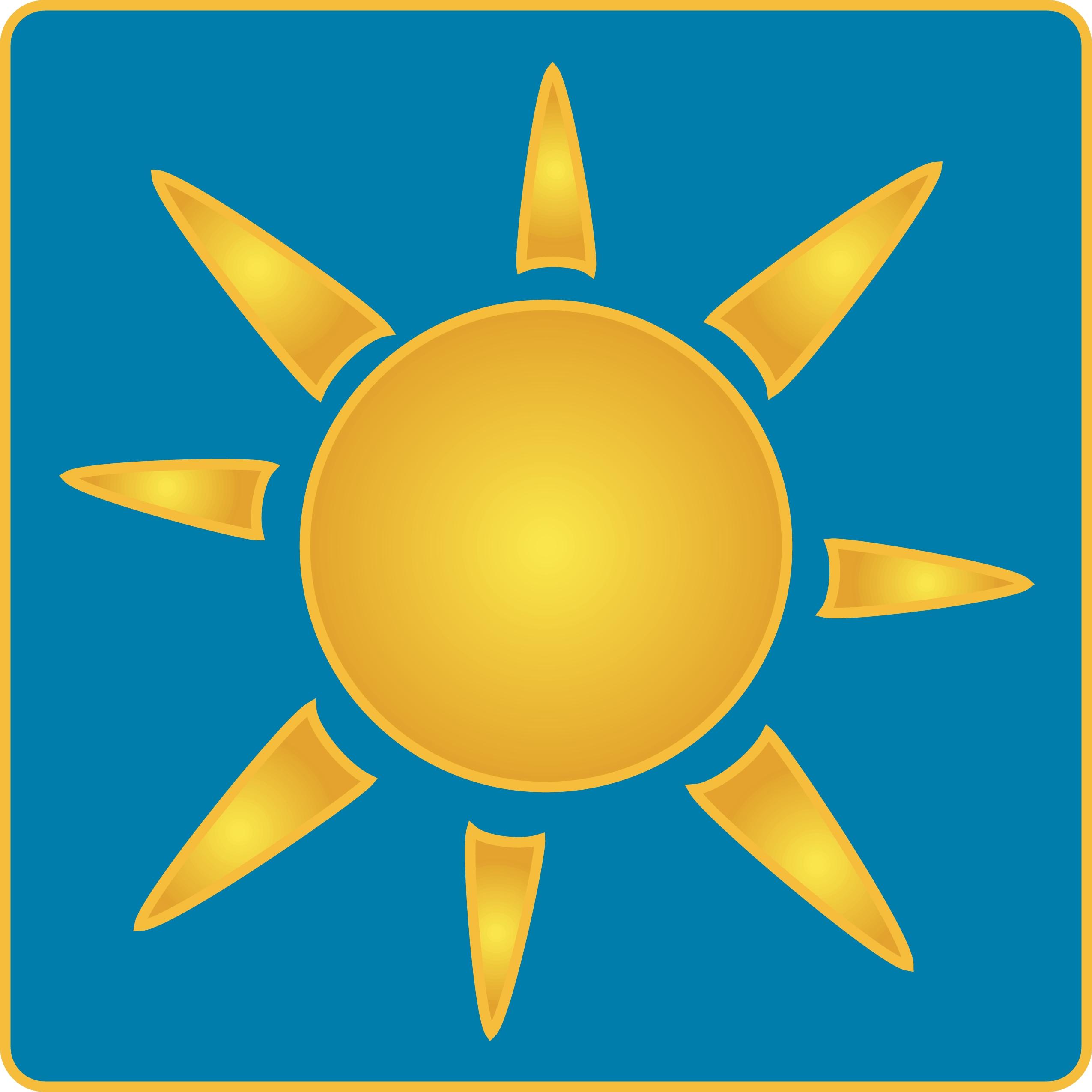 2550x2550 Clip Art Clip Art Sun Rays