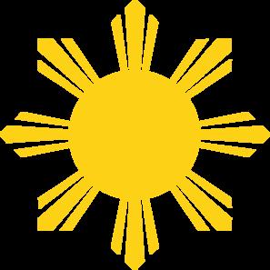 297x297 Clip Art Sun Rays
