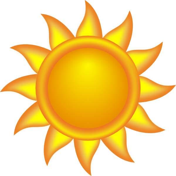 600x600 Clipart Sun