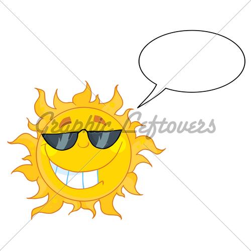 500x500 Fashion Pure Clip Art Sun With Sunglasses