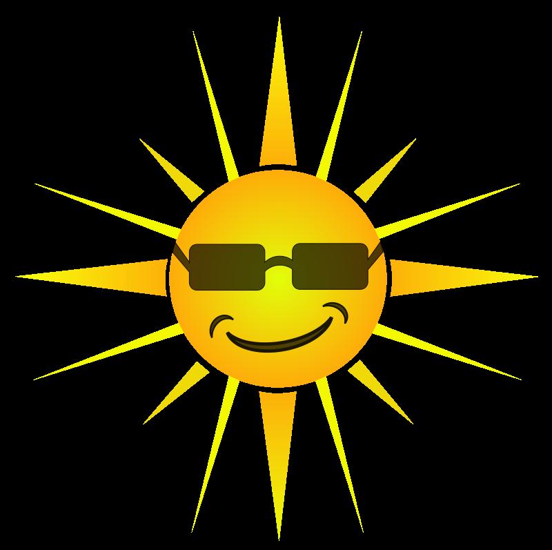 800x797 Sun With Shades