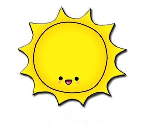 483x422 Cute Sun With Sunglasses Clipart 2