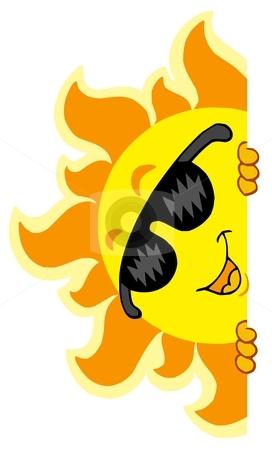 272x450 Sun With Sunglasses Clipart