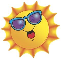 238x230 Sun With Sunglasses Clipart