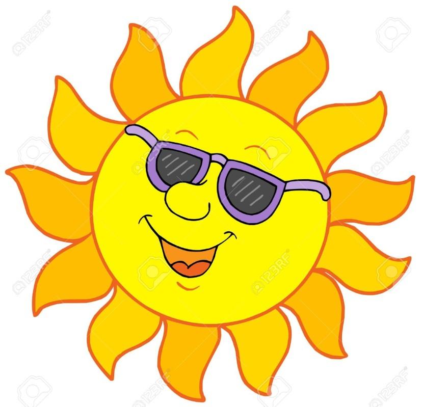 830x799 Sun With Sunglasses Clipart