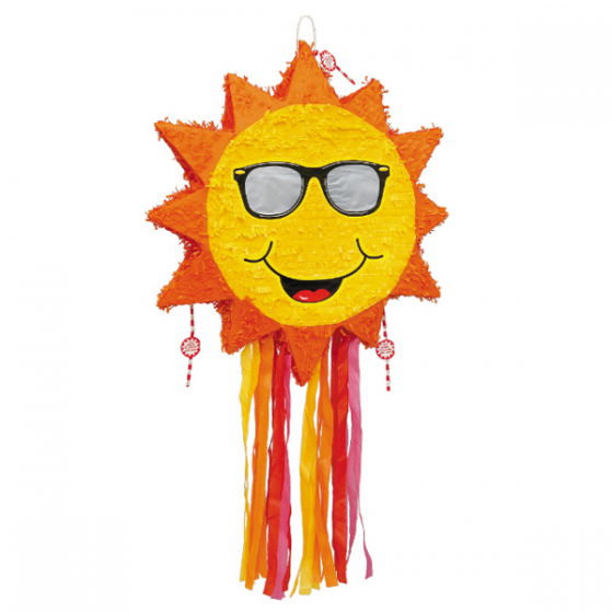 560x560 Sun With Sunglasses Pinata Wally's Party Factory