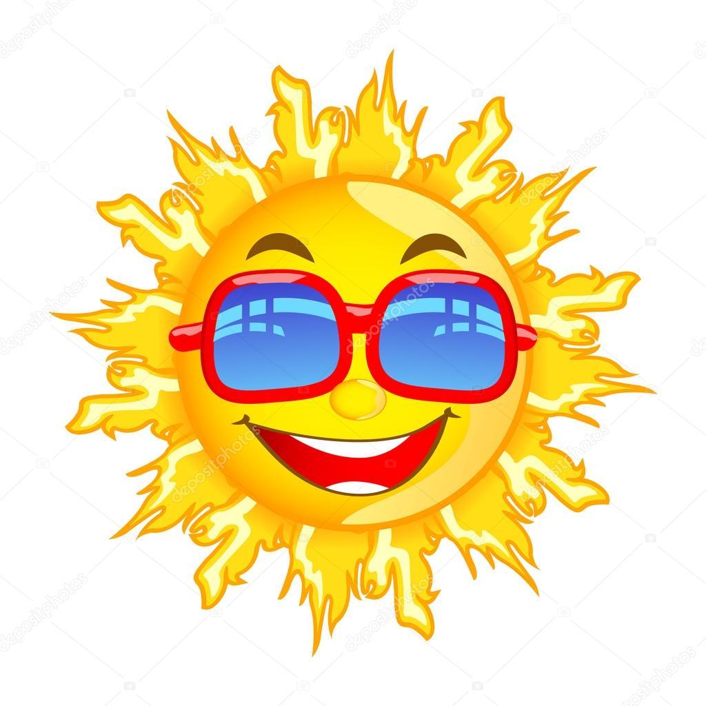 1024x1024 Sun With Sunglasses Stock Vector Stockshoppe