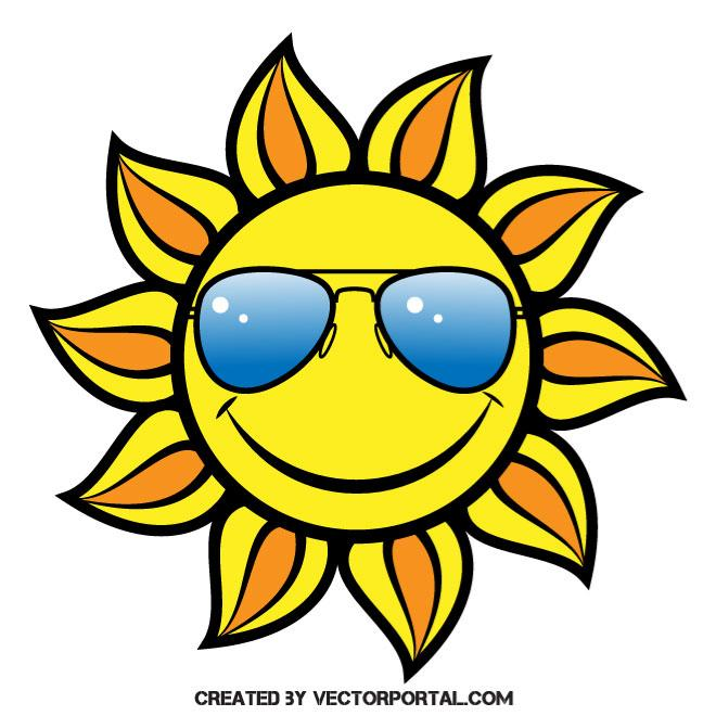 660x660 Sun With Sunglasses