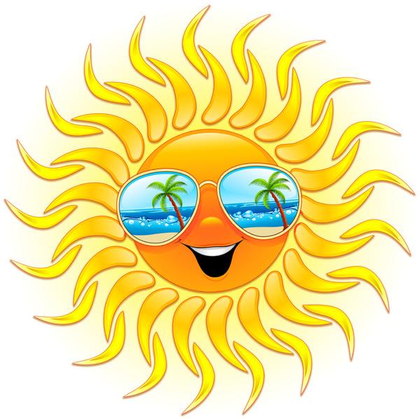 600x599 Sunglasses Clipart Winter Sun