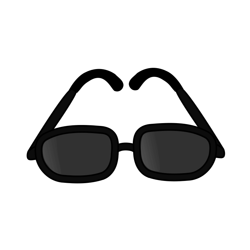 800x800 Darren Criss Sunglasses Clip Art Free Icons And Backgrounds