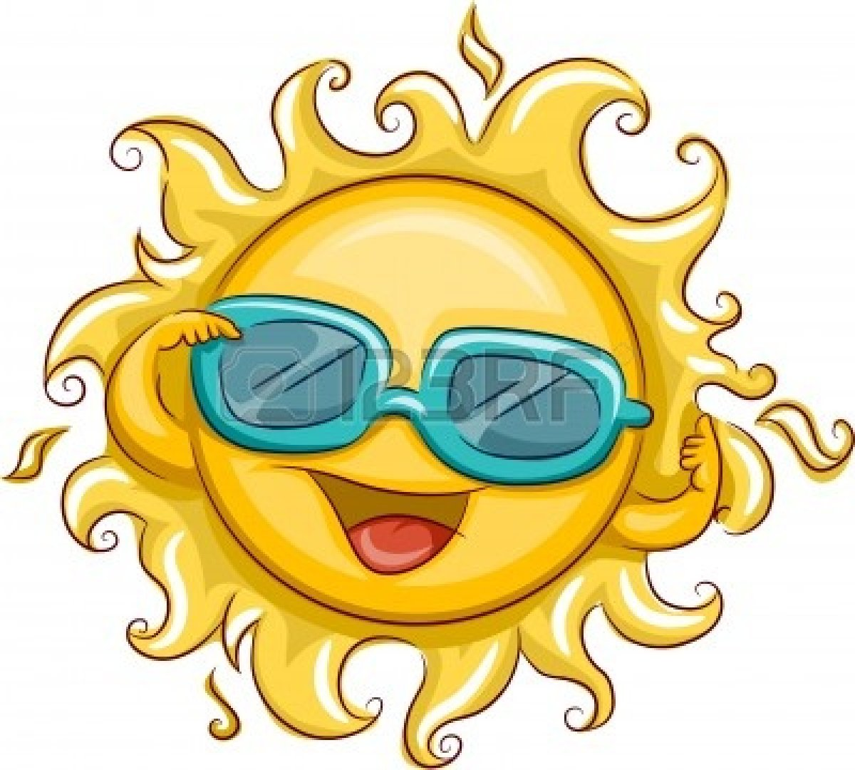 1200x1080 Fun In The Happy Sun Clip Art Images Cute Funny