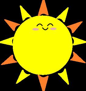 282x297 Happy Sun Clipart