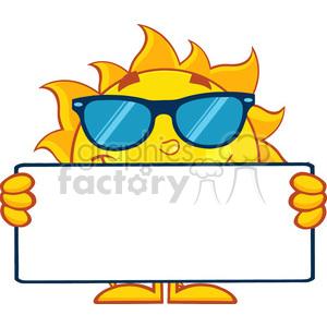 300x300 Royalty Free 10121 Cute Sun Cartoon Mascot Character
