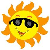 169x170 Stock Illustration Of Cartoon Sun With Sunglasses K1933757