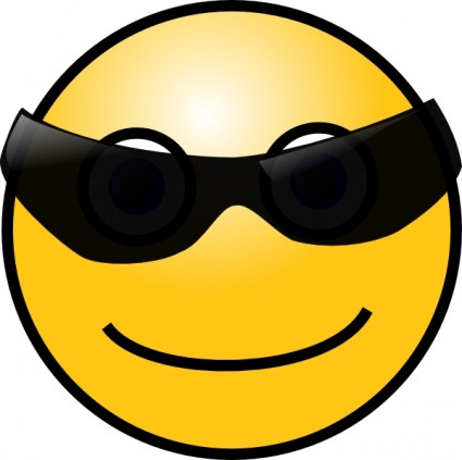 425x423 Sun Glasses Cool Smiley Clip Art Vector Clip Art Free Vector Free