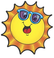 212x230 Sun Smile Clipart