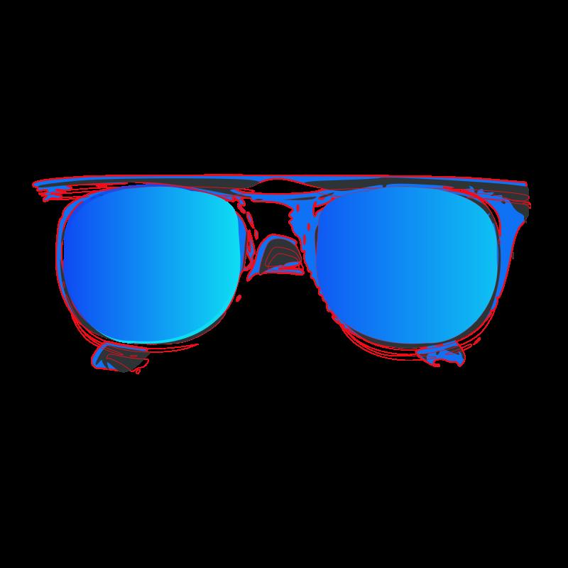 800x800 Sun With Sunglasses Clipart Free Download Clip Art