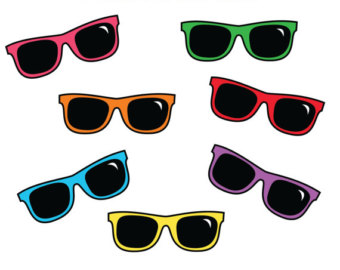 Sun With Sunglasses Clipart | Free download on ClipArtMag