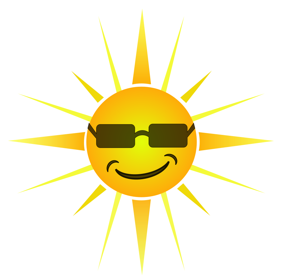 900x897 Best Happy Sun Clipart