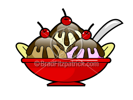 432x324 Hot Fudge Sundae Clip Art Hot Fudge Sundae Graphics Clipart