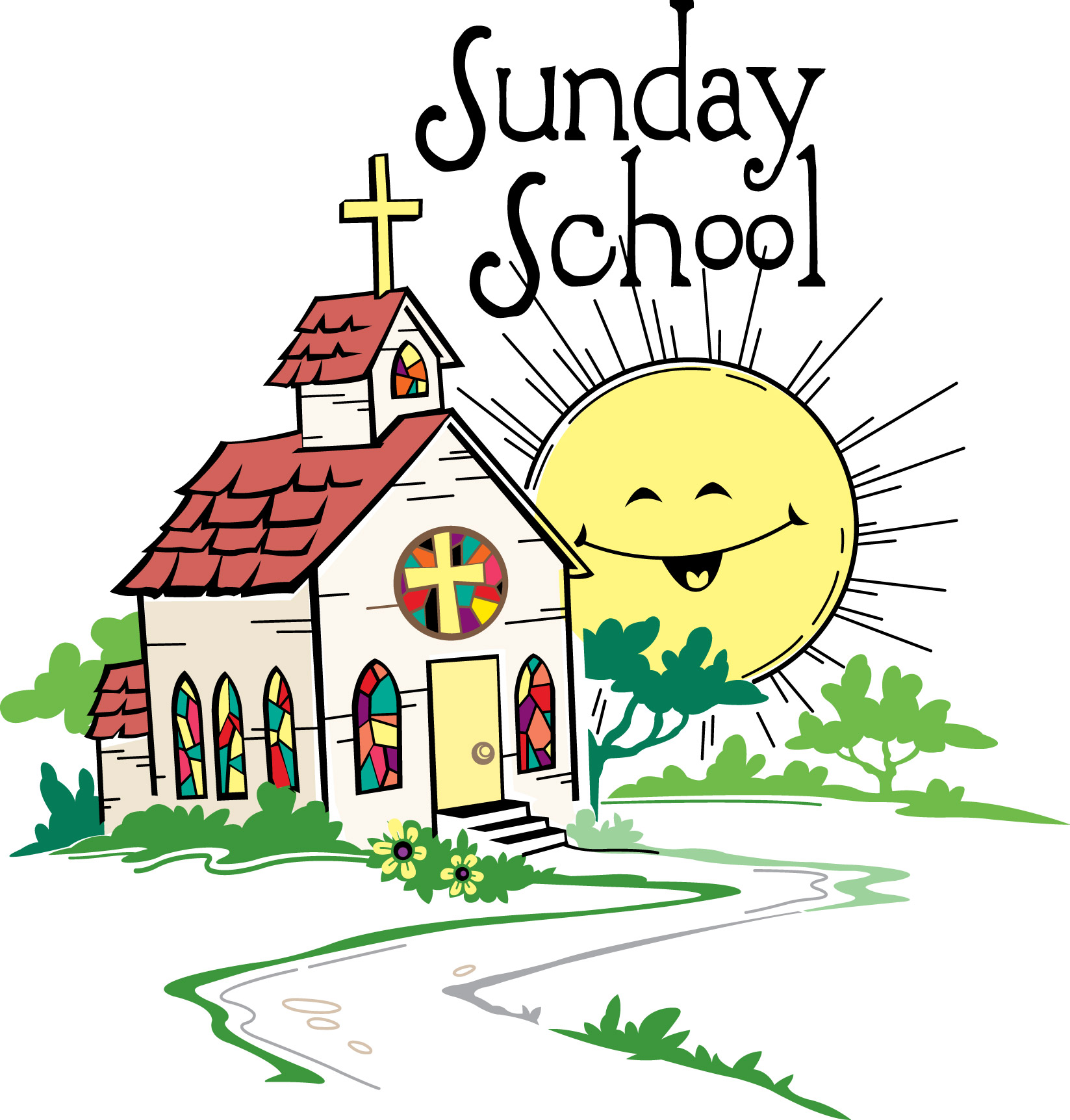1647x1723 Clipart School Sunday