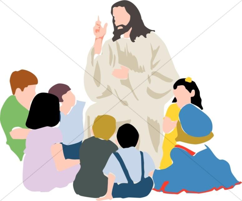 776x643 Jesus And Children Clipart