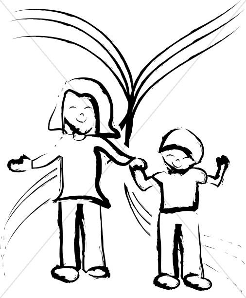 506x612 Children's Church Clipart, Sunday School Clip Art