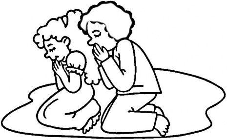 465x287 Printable Praying Hands Clipart Sunday School