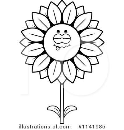 400x420 Sunflower Clipart