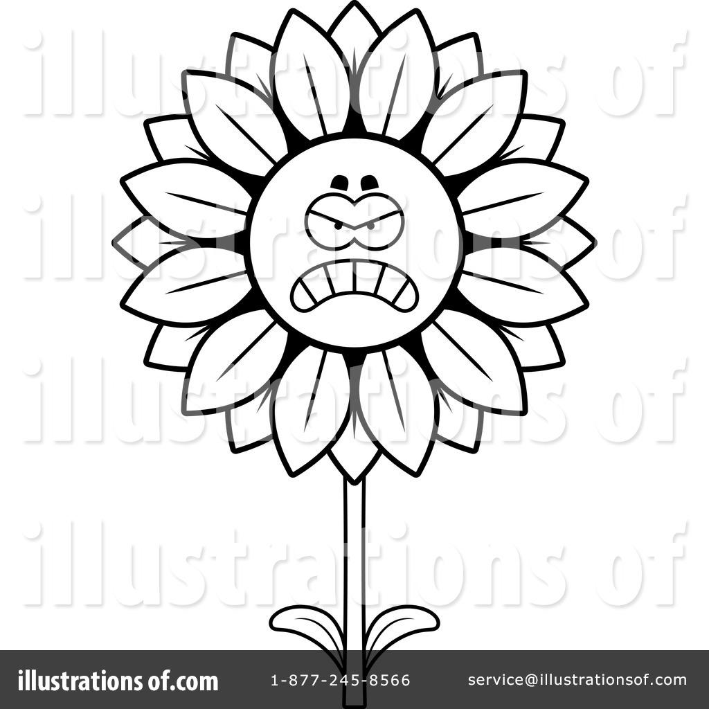 1024x1024 Sunflower Clipart