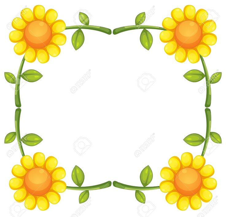 736x707 Graphics For Sunflower Border Graphics