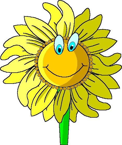 469x557 Sunflower Border Clipart
