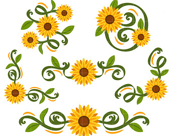 340x270 Border Clipart Sunflower Border Clipart Gallery ~ Free Clipart Images